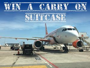 Win a Carry on Suitcase of your Choice (upto £40)
