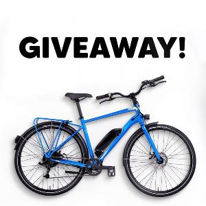 Win a Charge City Electric Bike plus $1,000 worth of Eddie Bauer apparel and gear