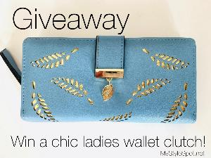 Win a chic ladies clutch wallet