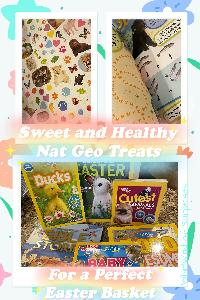 Win a collection of 6 Nat Geo Easter Books for kids!