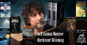 Win a collection of Neil Gaiman Hardcovers