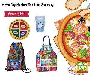 Win a Comic Book MyPlate Dinnerware/Apron set