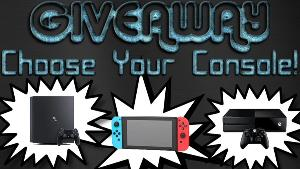 Win a Console Of Your Choice!- 1 winner & $60 Gift Card -1 winner (Winners outside US will receive Paypal instead & must have a Paypal account.)