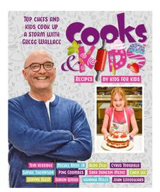 Win a Cooks & Kids 3 Recipe Book!