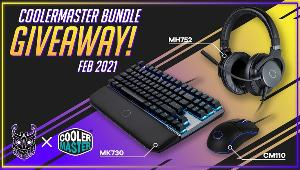 Win a Cooler Master Headset, Keyboard and Mouse!