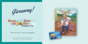 Win a copy of Bizzy Bzzz the Bee and Grandpa's Tea and a $100 Gift Card. Six additional winners will each receive a copy of Bizzy Bzzz the Bee and Grandpa's Tea!