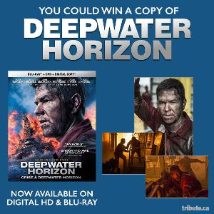 WIN: a copy of Deepwater Horizon on Blu-ray