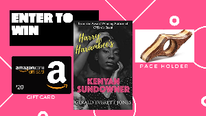 WIN: A copy of Harry Harambee's Kenyan Sundowner, A $20 Amazon Gift Card & A Page Holder!