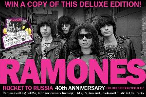 Win a copy of the 40th anniversary deluxe edition of Ramones' 'Rocket To Russia'