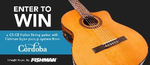 Win a Cordoba Nylon String Guitar