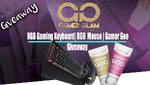 Win a Corsair RGB Gaming Keyboard & Mouse with Gamer Goo!!