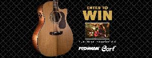 Win a Cort Gold A6 Acoustic Guitar