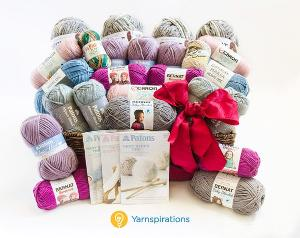 win a Cozy Yarn Prize Pack from Yarnspirations