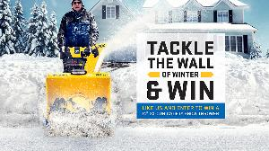 Win a Cub Cadet 3X snow thrower