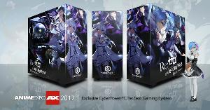 Win a Custom Re:Zero Themed Gaming PC from CYBERPOWERPC