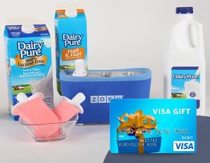 Win a DairyPure Prize Package + a $50 Visa Gift Card!!!