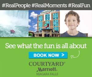 Win a 'Day of Fun' with the Family at the Courtyard Marriott Niagara Falls!