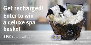 WIN A DELUXE SPA BASKET