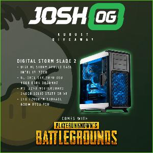 Win a Digital Storm Slade 2 Gaming Desktop with PUBG