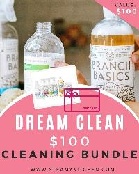 Win a Dream Clean $100 Home Cleaning Bundle!