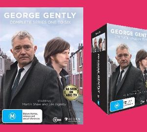 WIN a DVD copy of George Gently TV series 1-6!