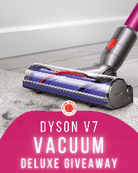 Win a Dyson Cordless Vacuum Giveaway! (Value at $339.99)