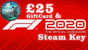 Win a F1 2020 Game Key & £25 giftcard!