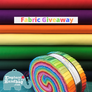 "Win a fabulous Kona Jelly Roll  PLUS  7 Fat Quarters each 27 cm x 50 cm (10.8"" x 20"")!!"