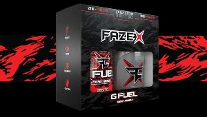 Win a FaZe X GFUEL Energy Collector's Kit containing a tub of the new FaZe X flavor of GFUEL Energy and an exclusive GFUEL shaker!