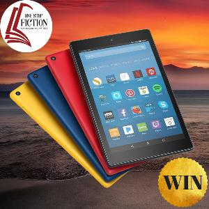 Win a Fire HD 8 Tablet with Alexa, 32 GB