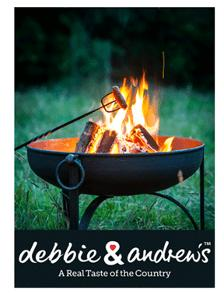 Win a Fire Pit and debbie&andrew's sausage supper kit