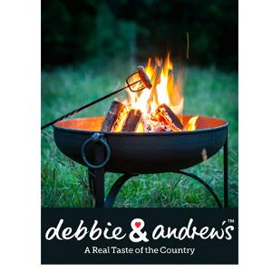 Win a Fire Pit and debbie&andrew's sausage supper kit!!!