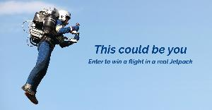 Win a flight in a real Jetpack in Los Angeles