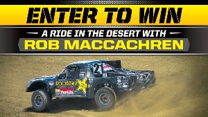 Win a flyaway trip for 2 to Las Vegas to ride with Rob MacCachren