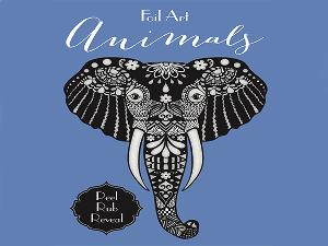 WIN A FOIL ART: ANIMALS BOOK FROM LITTLE BEE BOOKS!