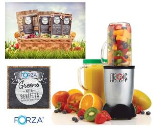 Win a Forza Greens with Benefits hamper & blender!!