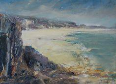Win a framed original oil painting by renowned Cornish artist Steve Slimm!