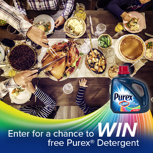 WIN: a free bottle of Purex Detergent