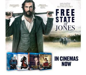 Win a FREE STATE OF JONES prize bundle!