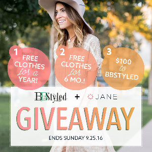 Win a Free Year of Clothes from Jane.com
