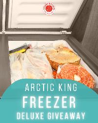 Win a Freezer! (Value at $200.00)