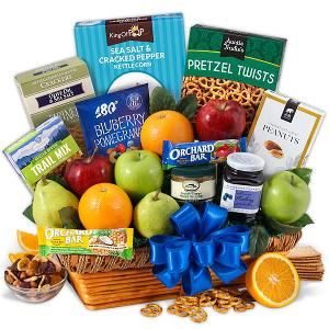 Win a Fruit and Healthy Snack Gift Basket