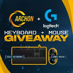 Win a G513 Carbon Keyboard & G903 Lightspeed mouse!!