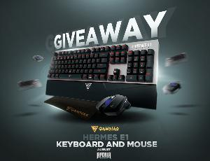 Win a GAMDIAS Keyboard & Mouse: Hermes E1 Edition