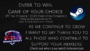 Win a Game of Choice (Gift Card for PS/Xbox)