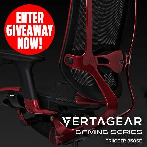Win a Gaming Series Triigger 350SE chair from Vertagear