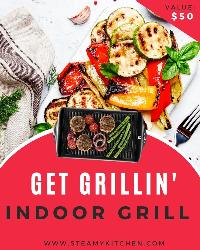 Win a Get Grillin' Electric Indoor Grill!