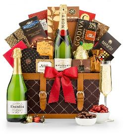 Win a GiftTree Champagne Wishes Gift Basket