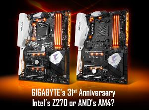 Win a Gigabyte Motherboard - 2 Winners