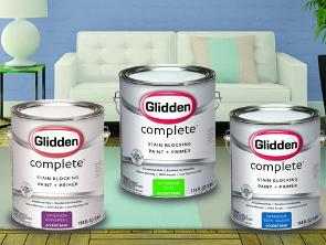 Win a Glidden Complete Paint Prize Package!